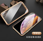 Luxury Magnetic Adsorption Metal Case for iPhone - Broadwaytrending Shop