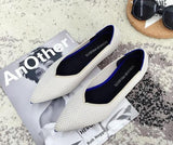 The Pointed Toe Flats Environmental Women shoes variety colors - Broadwaytrending Shop
