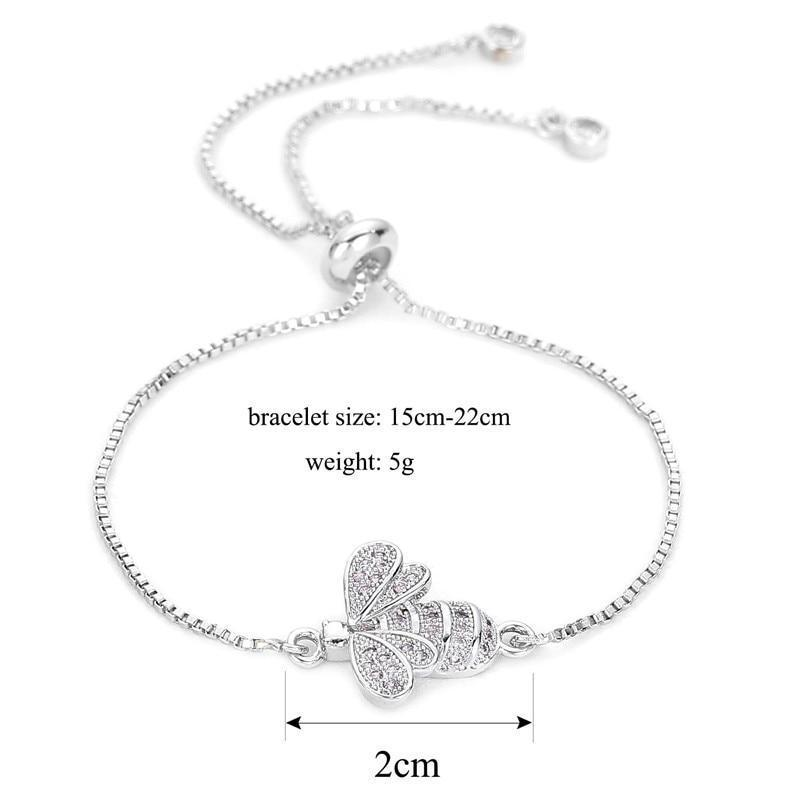 Crystal Bee Bracelet - Broadwaytrending Shop