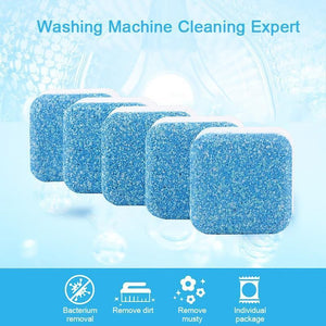Washing Machine Effervescent Tub Cleaner (5PCs) - Broadwaytrending Shop