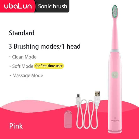 Rechargeable Whitening and Waterproofing Toothbrush for Adults - Broadwaytrending Shop