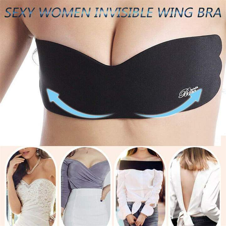 SEXY WOMEN INVISIBLE WING BRA - Broadwaytrending Shop