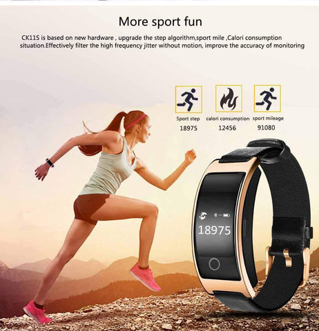 BE FASHIONABLE AND BE FIT! BLOOD PRESSURE & HEART RATE MONITOR WRIST WATCH - Broadwaytrending Shop