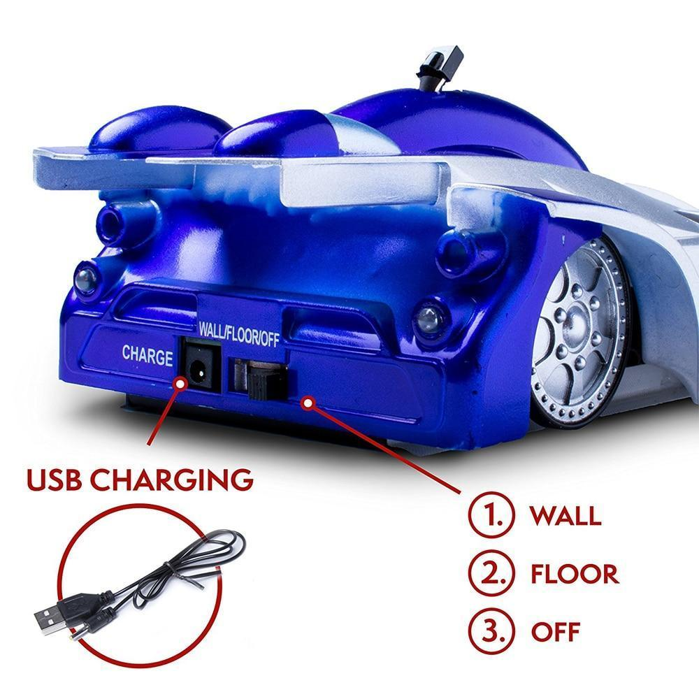 WALL CEILING CLIMBING RC TOY CAR WITH REMOTE CONTROL - Broadwaytrending Shop