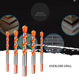 Triangular-overlord Handle Multifunctional Drill Bits - Broadwaytrending Shop