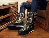Winter Warm Thickening Fur Lined Snow Boots - Broadwaytrending Shop
