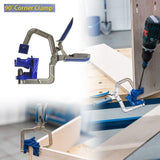 90 Degree Angle Carpenter's Clamp - Broadwaytrending Shop