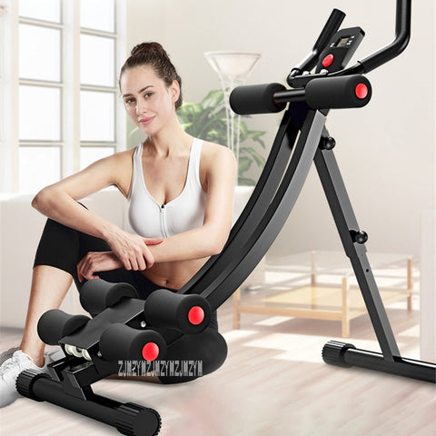 Household Exercise Abdominal Fitness Equipment Abdomen Machine Waist Ab Roller - Broadwaytrending Shop