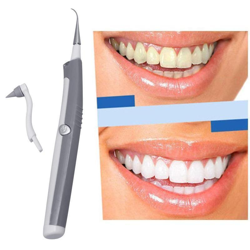 Sonic Scaler Ultrasonic Tooth Stain/Plaque Remover - Broadwaytrending Shop