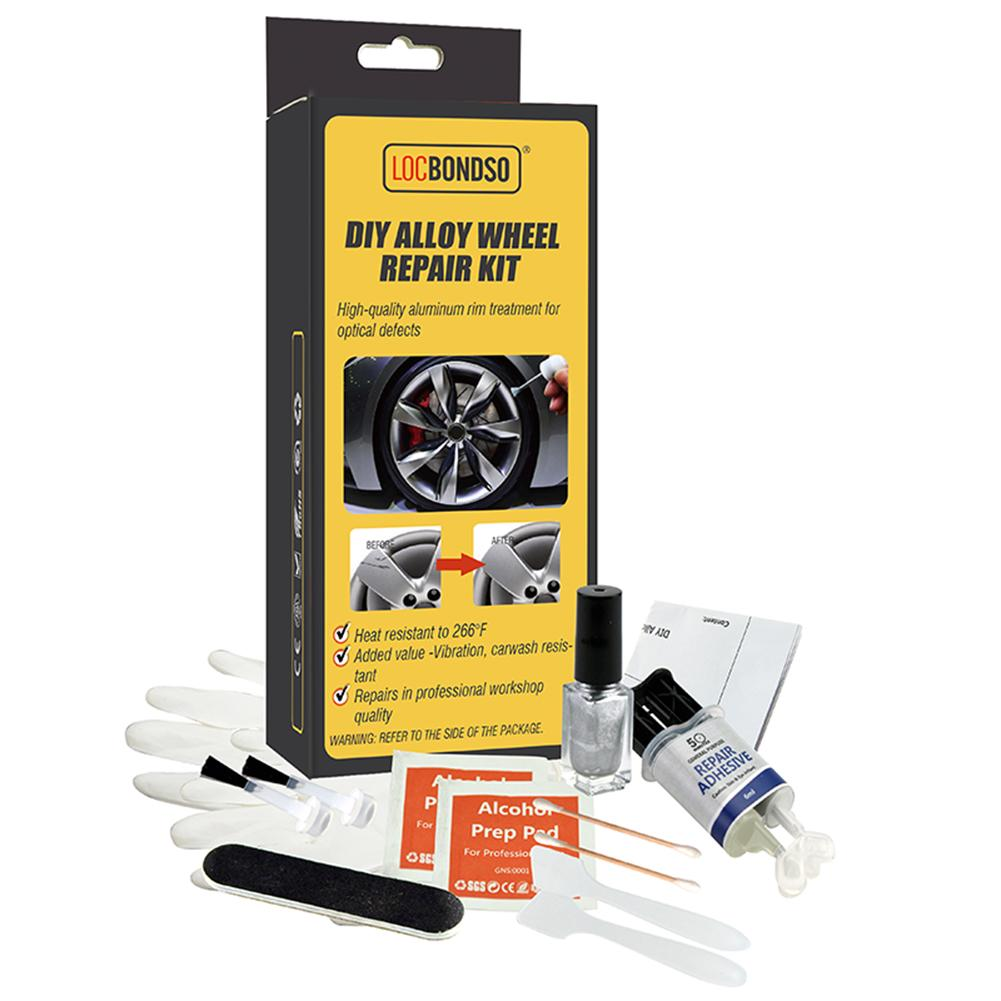 DIY Alloy Wheel Repair Kit (Full Set)