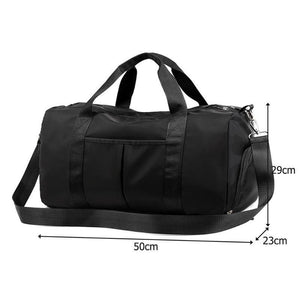 Travel Duffel Bag with Dry Wet Pocket - Broadwaytrending Shop