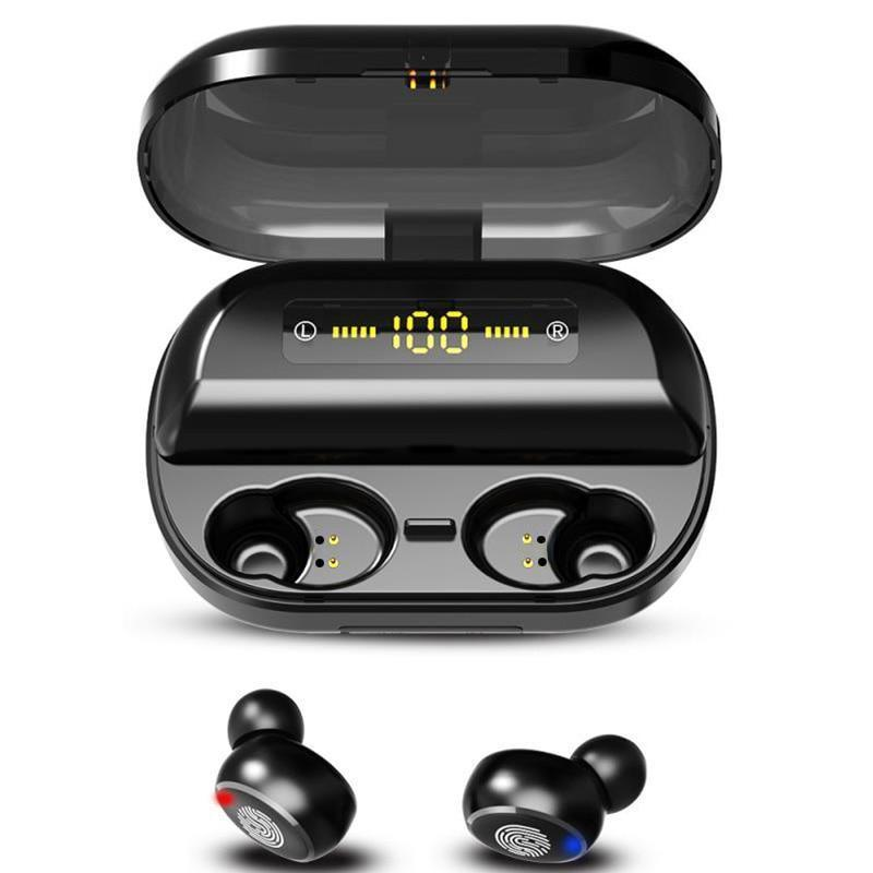 Touch Control Wireless Earbuds (4000 mAh) - Broadwaytrending Shop