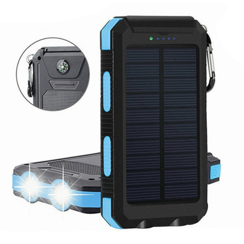 Lit Solar Power Bank Camping Travel Flashlight & Phone Charger - Broadwaytrending Shop