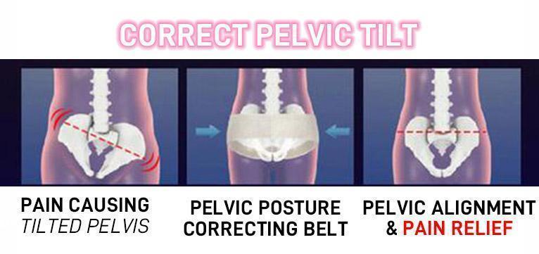 Hip-Up Pelvis Correction Belt Correcting pelvic - Broadwaytrending Shop