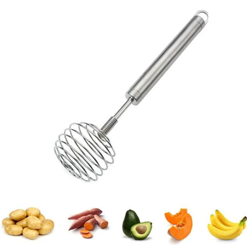 Multi-role Egg Whisk Potato Masher