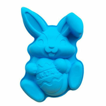Easter Bunny Silicone Mold Chocolate DIY Cakes