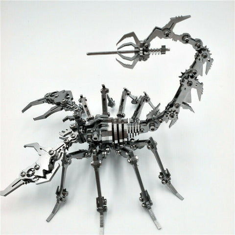 3D Puzzle DIY Assembly Scorpion Toys Stainless Steel Model - Broadwaytrending Shop