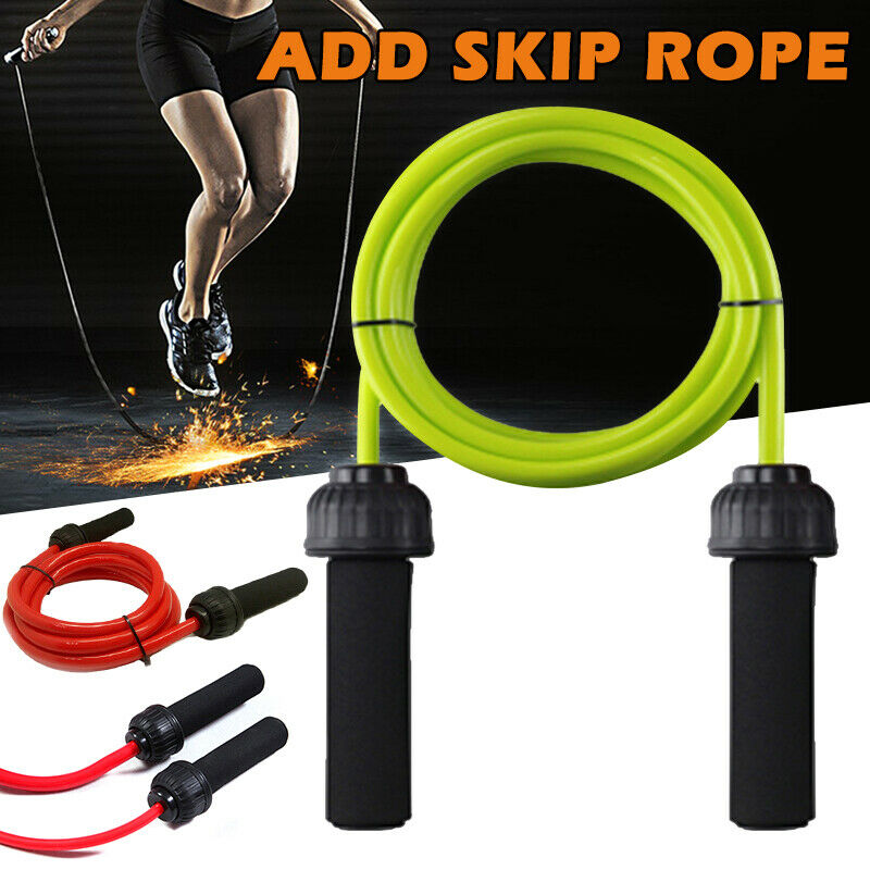 Heavy Weighted Jump Rope Solid PVC 2.8m for Crossfit and Boxing - Broadwaytrending Shop
