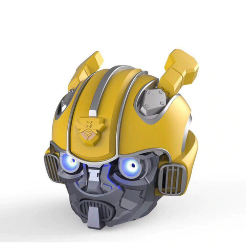 Transformer Bumblebee Helmet Bluetooth Speaker - Broadwaytrending Shop