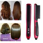 Ceramics Hair Straight Styler Straightener Curler Curling Styling - Broadwaytrending Shop
