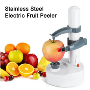 Stainless Steel Electric Fruit Peeler - Broadwaytrending Shop