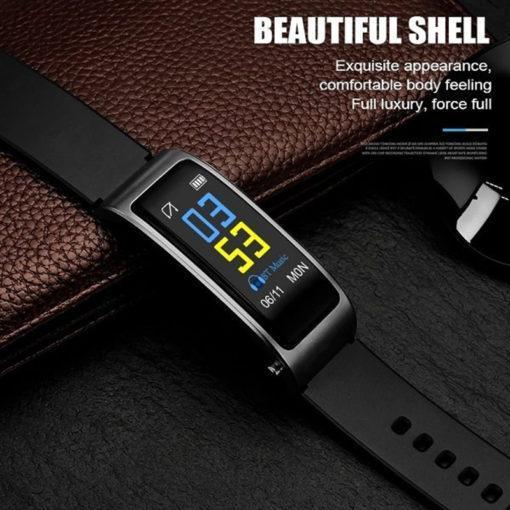 2-in-1 Smart Bracelet with Bluetooth Earphone - Broadwaytrending Shop