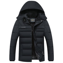Load image into Gallery viewer, 2019 Hot Fashion Hooded Winter Coat Men Thick Warm Mens Winter Jacket Windproof Father's Gift Parka