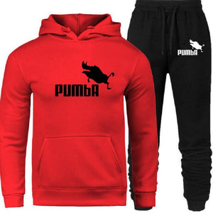 2019 New Fashion Men Hoodies Suits Brand Tracksuit Men/Women Sweatshirts+Sweatpants Autumn Winter Fleece Hooded Pullover
