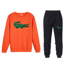 Load image into Gallery viewer, 2019 spoof Funny brand men crocodile hoodies sweatshirts winter Street trend sudaderas hombre jogging Sportswearsets Tops+ Pants