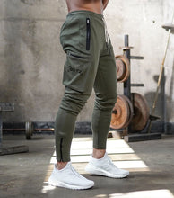 Load image into Gallery viewer, Men's jogging pocket design sweatpants New cotton camouflage men's fitness multi-pocket jogging pants fashion training suit