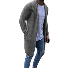 Load image into Gallery viewer, 2020 Casual Spring Men Cardigans Streetwear Mens Solid Slim Fit Sweater Overcoat Male Thin Long Sleeve Knitted Sweaters