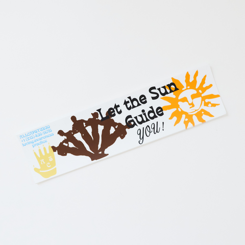 Sun Guidance Sticker