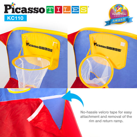 Image of PicassoTiles® KC110 Foldable Basketball Rim