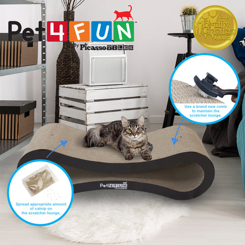 Image of Pet4Fun® PF360 4 in1 Cat Scratcher