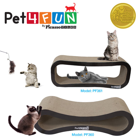 Pet4Fun® PF360 4 in1 Cat Scratcher