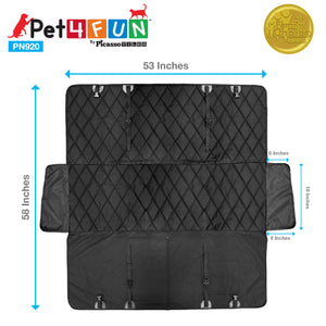 PET4FUN® PN920 Waterproof Hammock Pet Seat Cover
