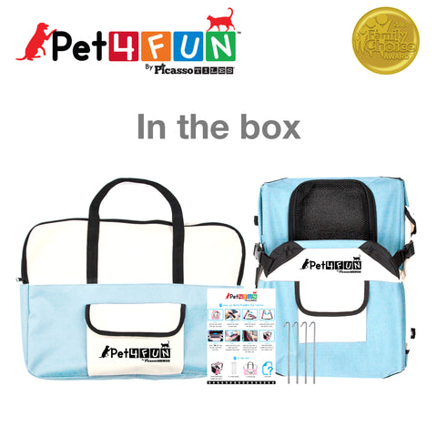 PET4FUN® PN950 Foldable Pet Carrier (Small)