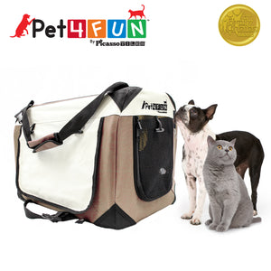 PET4FUN® PN951 Foldable Pet Carrier (Medium)