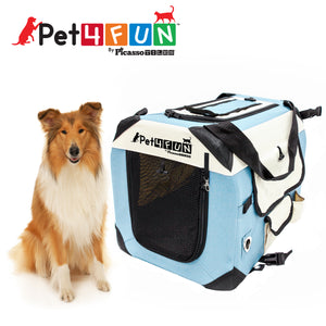 PET4FUN® PN952 Foldable Pet Carrier (Large)