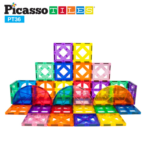 PicassoTiles® 36 Piece 36pc Set PT36