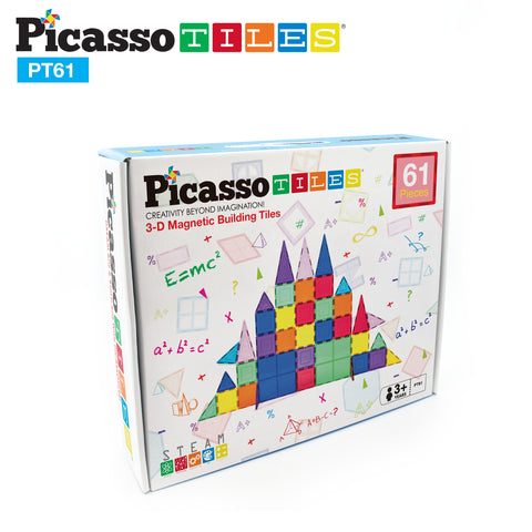 Image of PicassoTiles® 61 Piece 61pc Set PT61