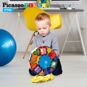 PicassoTiles® 62 Piece Ferris Wheel Set PT62