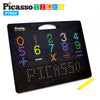 "PicassoTiles® Large 12""x10"" Magnetic Drawing Board PTB02 Letters and Numbers"
