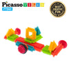PicassoTiles® PTB60 Bristle Shape Blocks 60-Piece Basic Building Set