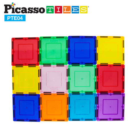 Image of PicassoTiles® 12 Piece Square Expansion Pack PTE04