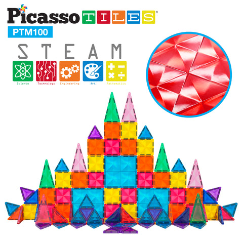PicassoTiles Mini Diamond 100pc Set PTM100