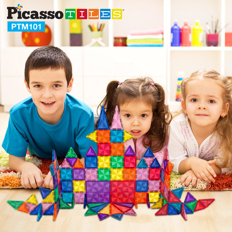 PicassoTiles Mini Diamond 101pc Set PTM101