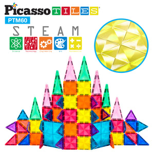 PicassoTiles® Mini Diamond 60pc Set PTM60