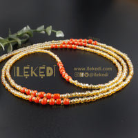 Gold With Coral Rayo