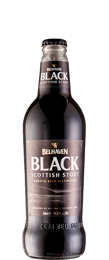 Belhaven Black Scottish Stout 500ml
